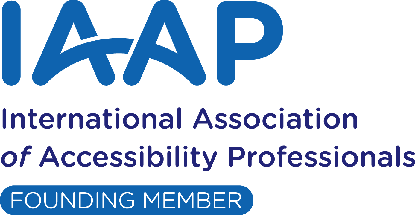 IAAP International Association of Accessibility Professionals Founding Member